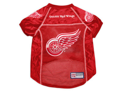 Detroit Red Wings Sports Vault Pet Jersey-X-Large