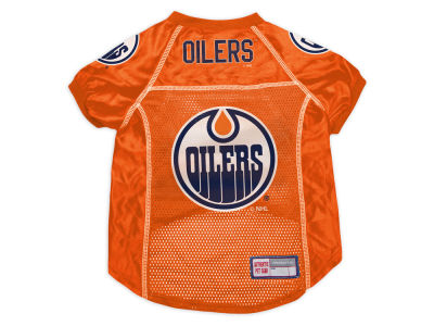 Edmonton Oilers Sports Vault Pet Jersey-X-Large