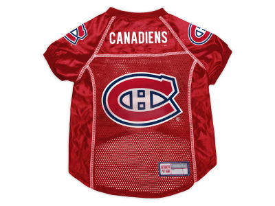 Montreal Canadiens Sports Vault Pet Jersey-X-Large