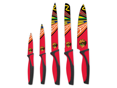 Chicago Blackhawks Sports Vault 5-Piece Kitchen Knife Set
