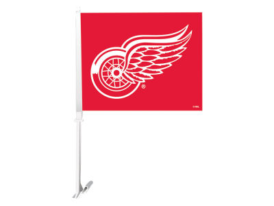 Detroit Red Wings Sports Vault Premium Double-Sided Car Flag