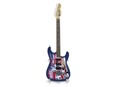 Montreal Canadiens Sports Vault Mini Collector Guitar