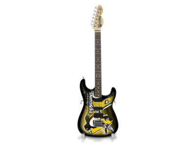 Pittsburgh Penguins Sports Vault Mini Collector Guitar