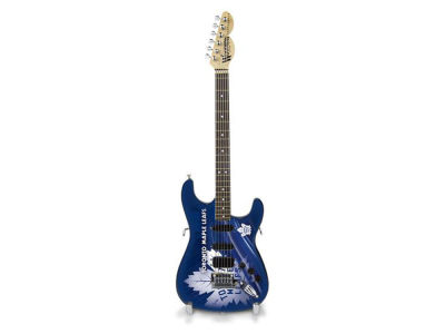 Toronto Maple Leafs Sports Vault Mini Collector Guitar