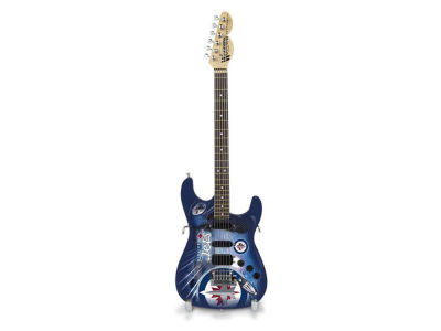 Winnipeg Jets Sports Vault Mini Collector Guitar