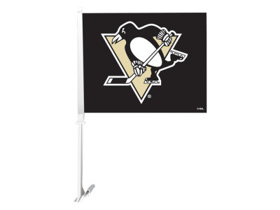 Pittsburgh Penguins Sports Vault Premium Double-Sided Car Flag