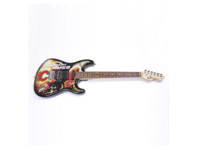 Calgary Flames Sports Vault Northender Guitar