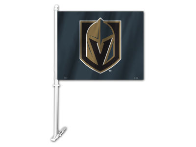 Vegas Golden Knights Sports Vault Premium Double-Sided Car Flag