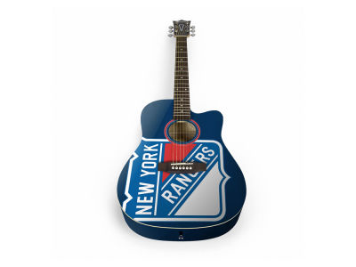 New York Rangers Chambre forte de sports Acoustic Guitar