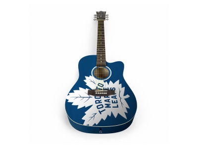 Toronto Maple Leafs Sports Vault Acoustic Guitar