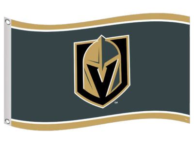Vegas Golden Knights Chambre forte de sports 3 X 5 Team Flag