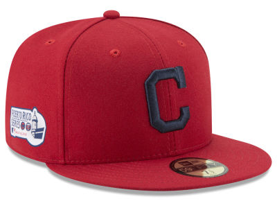 Cleveland Indians New Era 2018 MLB Puerto Rico Series 59FIFTY Cap