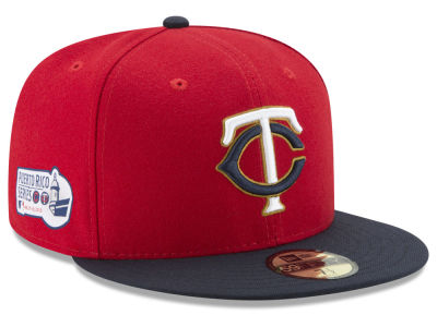 Minnesota Twins New Era 2018 MLB Puerto Rico Series 59FIFTY Cap