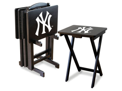 New York Yankees Imperial TV Trays with Stand
