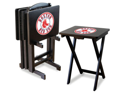 Boston Red Sox Imperial TV Trays with Stand