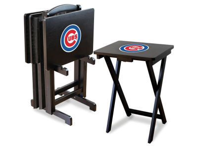 Chicago Cubs Imperial TV Trays with Stand