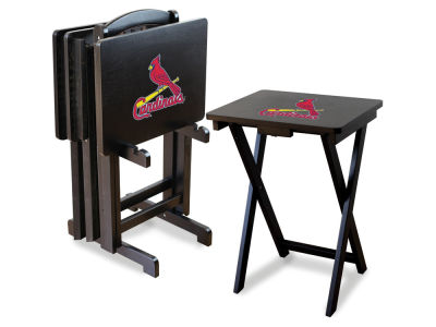 St. Louis Cardinals Imperial TV Trays with Stand