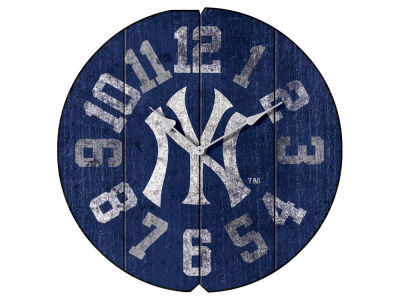 New York Yankees Imperial Vintage Round Clock