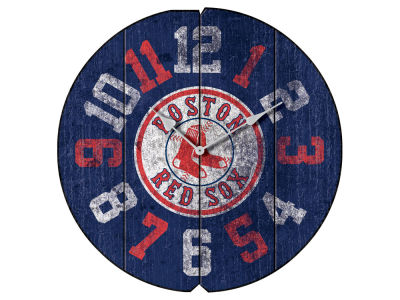 Boston Red Sox Imperial Vintage Round Clock