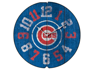 Chicago Cubs Imperial Vintage Round Clock