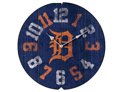 Detroit Tigers Imperial Vintage Round Clock