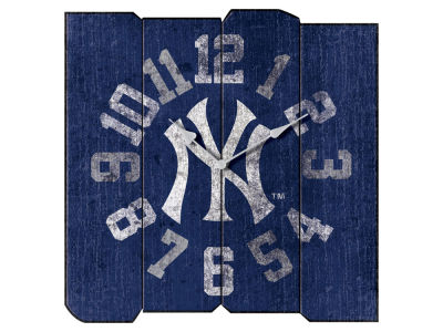 New York Yankees Imperial Vintage Square Clock