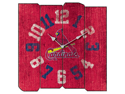 St. Louis Cardinals Imperial Vintage Square Clock