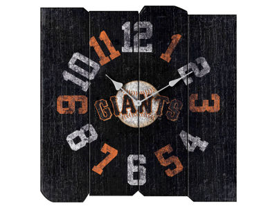 San Francisco Giants Imperial Vintage Square Clock