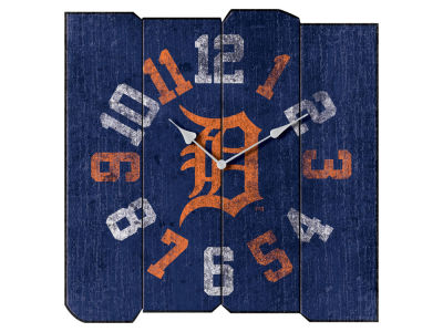 Detroit Tigers Imperial Vintage Square Clock