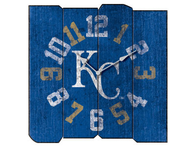 Kansas City Royals Imperial Vintage Square Clock