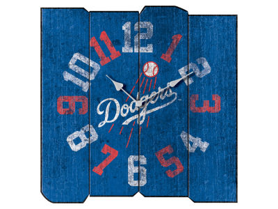 Los Angeles Dodgers Imperial Vintage Square Clock