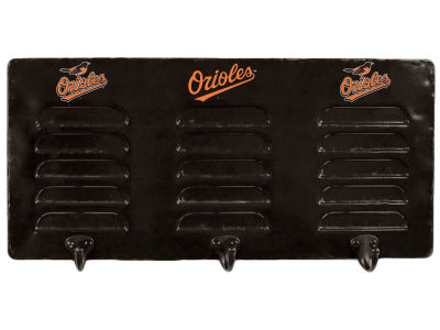 Baltimore Orioles Imperial 3 Hook Metal Locker Coat Rack