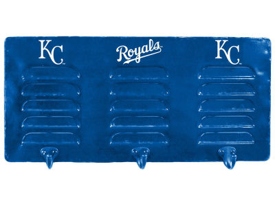 Kansas City Royals Imperial 3 Hook Metal Locker Coat Rack