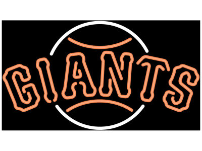 San Francisco Giants Imperial Neon Sign