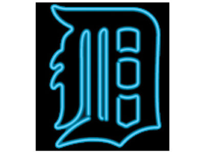 Detroit Tigers Imperial Neon Sign