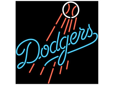 Los Angeles Dodgers Imperial Neon Sign