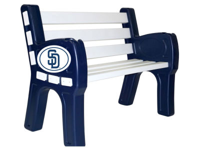 San Diego Padres Imperial Park Bench