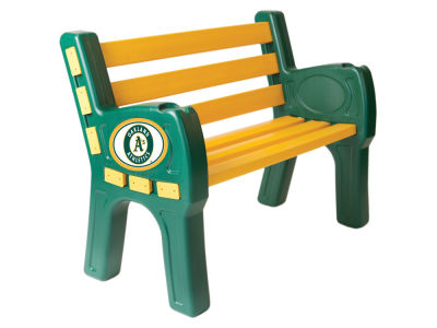 Oakland Athletics Imperial Park Bench