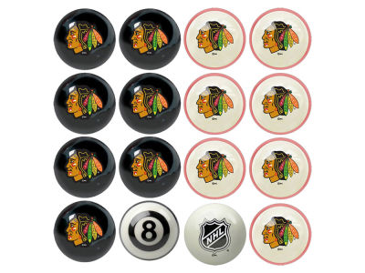 Chicago Blackhawks Imperial Home vs Away Billiard Ball Set