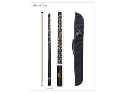 Boston Bruins Imperial Cue and Case Combo Set