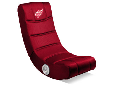 Detroit Red Wings Imperial Video Chair with Bluetooth