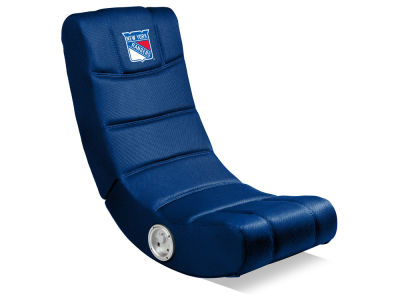 New York Rangers Imperial Video Chair with Bluetooth