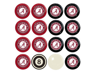 Alabama Crimson Tide Imperial Home vs Away Billiard Ball Set