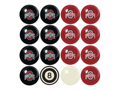Ohio State Buckeyes Imperial Home vs Away Billiard Ball Set