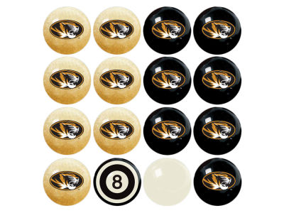 Missouri Tigers Imperial Home vs Away Billiard Ball Set