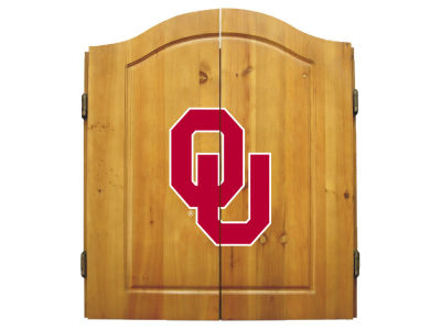 Oklahoma Sooners Imperial Dart Cabinet
