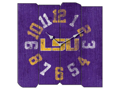LSU Tigers Imperial Vintage Square Clock