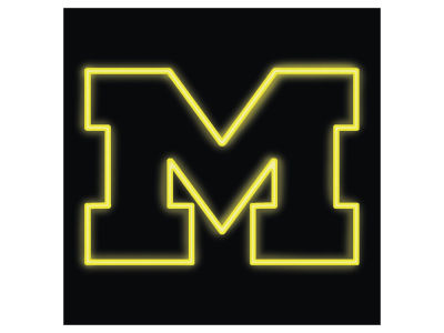 Michigan Wolverines Imperial Neon Sign