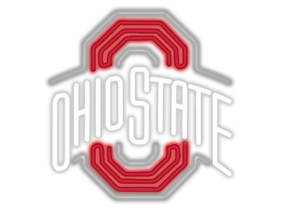 Ohio State Buckeyes Imperial Neon Sign
