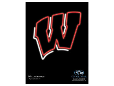 Wisconsin Badgers Imperial Neon Sign